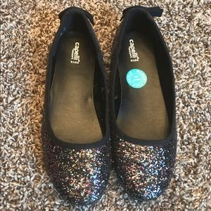 Capelli Sparkle Flats for Girls